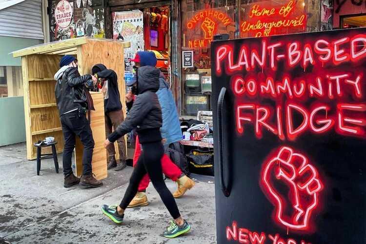 Overthrow Community Fridge