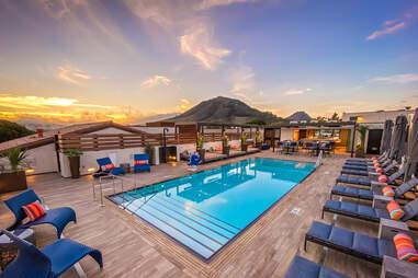 Hotel Cerro pool