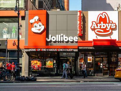 Jollibee in Midtown Manhattan, New York City