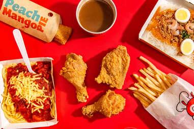 Jollibee fast food menu items