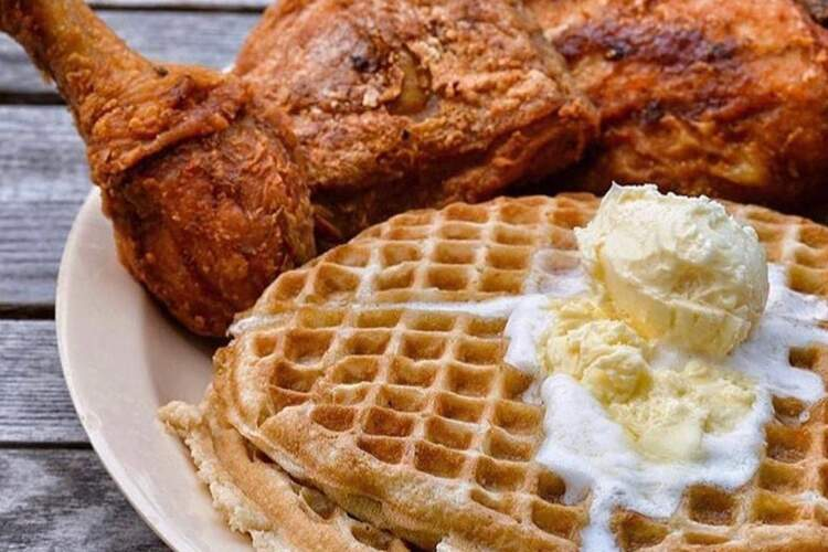 Johnny's World Famous Chicken & Waffles