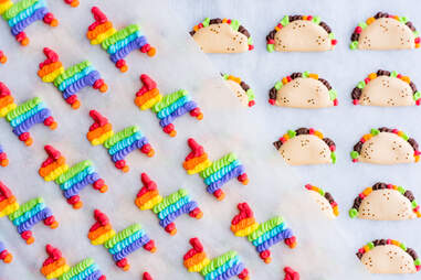 sprinkle robot sprinkles cinco de mayo colorful