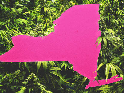 New York state recreational weed legalization