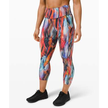 """Fast and Free High-Rise Crop 23"""" Non-Reflective Newlux Leggings"""