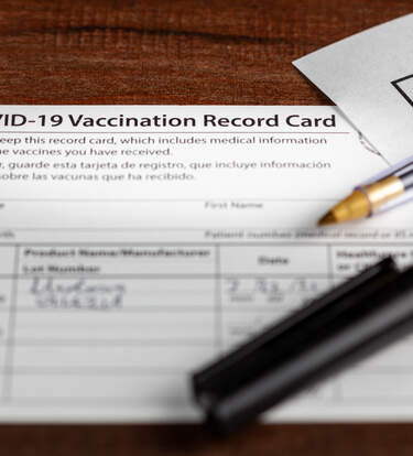 These Badges Will Keep Your Vaccine Record Cards Safe & Protected