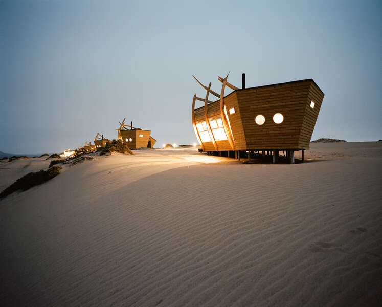 Sleep in a Fancy Shipwreck at the End of the Earth