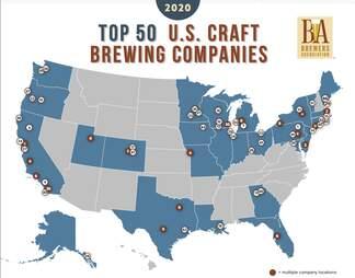 top craft breweries 2020