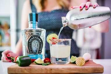 Herradura Tequila Anejo for margarita