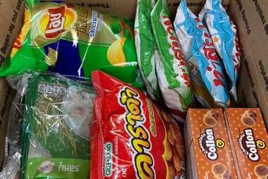 Bhan Kanom Thai chips