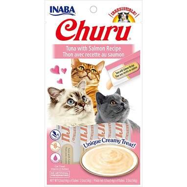 Inaba Churu Lickable Purée Natural Cat Treats