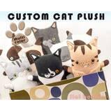 Custom Cat Stuffed Animal