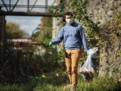 Potomac Conservancy volunteer