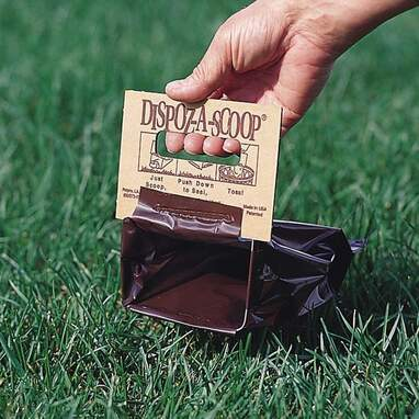 Dispoz-A-Scoop No-Touch Dog Poop Bags