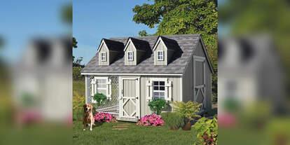 dog house mansion