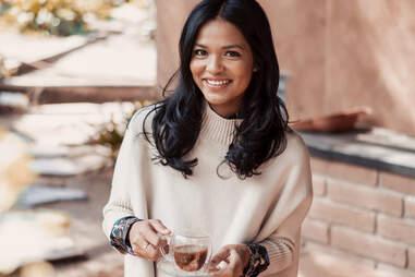 Sashee Chandran of tea drops