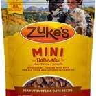 Zuke's Mini Naturals Peanut Butter and Oats Treats