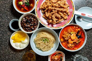 Chinese-Korean cuisine at Choong Hwa Won
