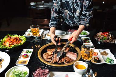 Korean BBQ at Han Gang