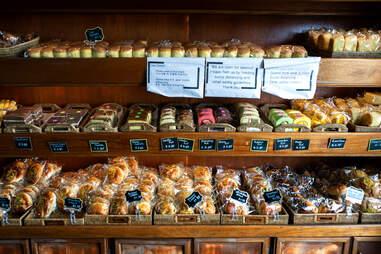 Desserts at Shilla Bakery