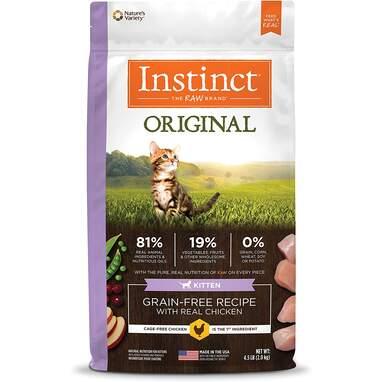 Instinct kitten food