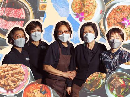 The staff at Han Gang