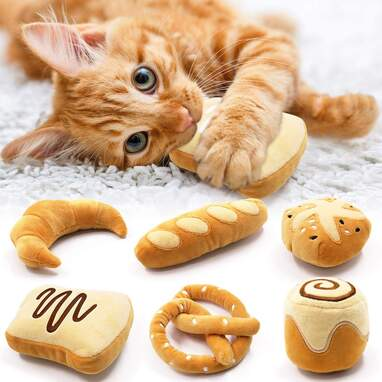 Bread Catnip Toy (Set of 6)