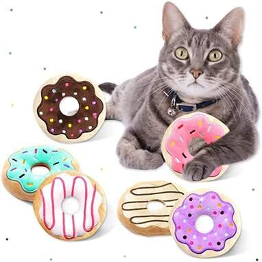 Donut Catnip Toy (Set of 6)