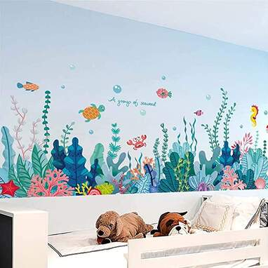 3D Under The Sea Wall Stickers