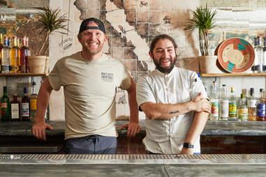 Owner Ryan McKenzie & executive chef Carlos Chavarria