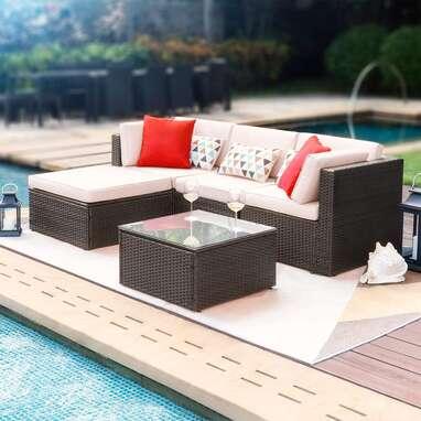 Devoko 5-Piece Patio Furniture Set