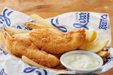Ivar's Restaurants fish and chips