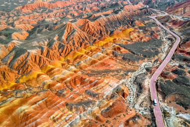 Zhangye National Geopark in China