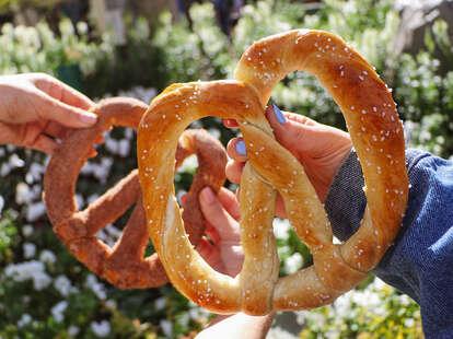 national pretzel day food deals 2021