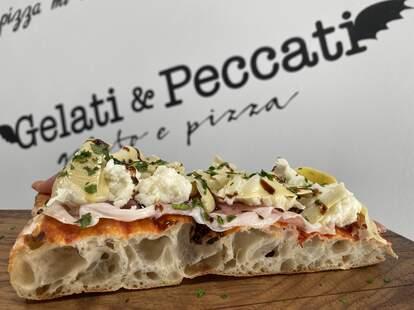 Gelati & Peccati pizza