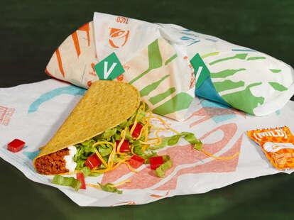 Taco Bell's new vegan Cravetarian Taco