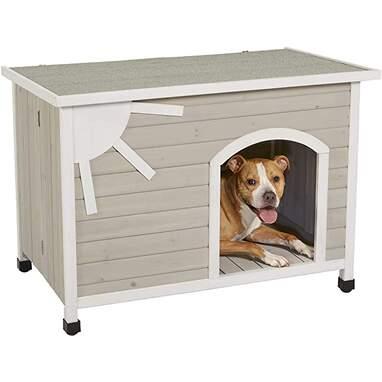 Folding Outdoor Wood Dog House