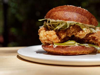 Arbor chicken sandwich