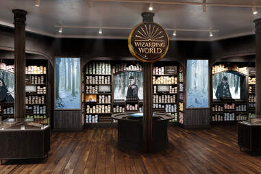 Harry Potter New York wizarding world wand shop