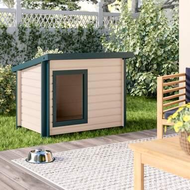 Adela Rustic Lodge Style Dog House