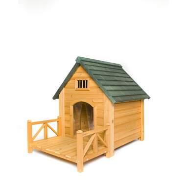 Baron Wood Insulated K-9 Kastle Dog House