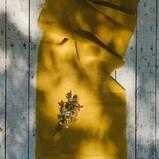 Plant Dyed Handwoven Linen Table Runner