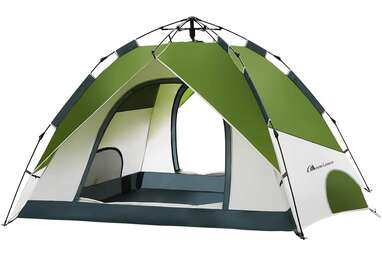 MOON LENCE Pop Up Tent - 4 Person Portable Tent