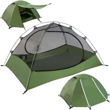Clostnature 3-Season, 4-Person Lightweight Backpacking Tent