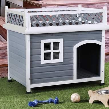 Olivar Contemporary Dog House