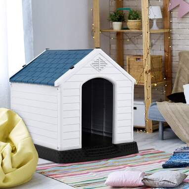 Falgoust White Plastic Dog House