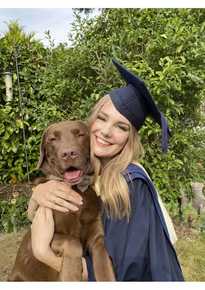 Dog Gets His Very Own Graduation Photos - The Dodo