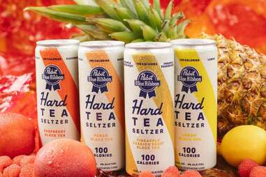 Pabst Blue Ribbon Hard Tea Seltzer