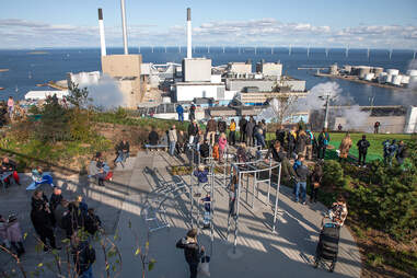 CopenHill green roof