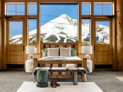 airbnb mountain top