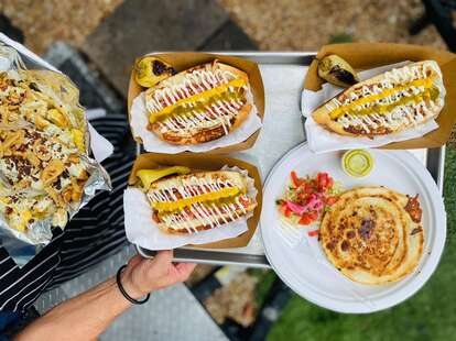 T-Loc's Sonoran Style Hot Dogs